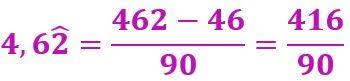 Cómo pasar números decimales periódicos a fracciones