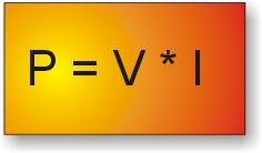 Fórmula de potencia eléctrica